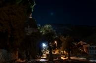 stars and street light